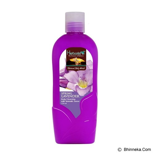HERBORIST Natural Body Wash 220ml [099203] - Spring Lavender - Sabun Mandi